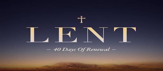 Online Lent Resources
