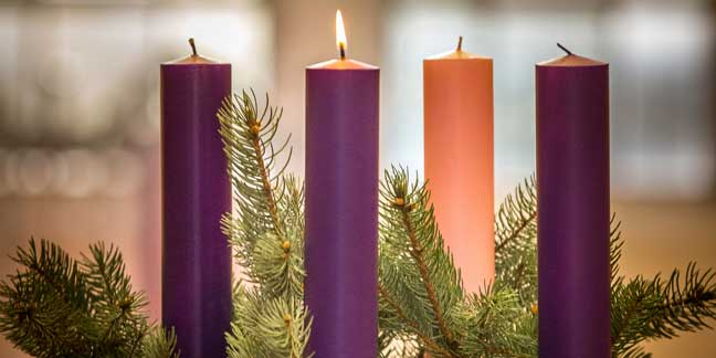 Advent Liturgy for use at home