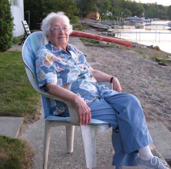 Ferne Cox celebrates her 100th birthday